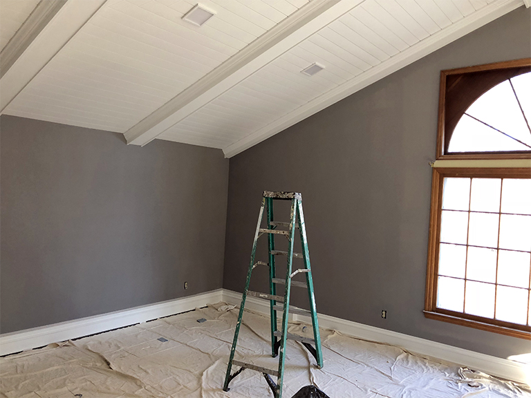 Bill Schiebe Painting - Interior Room